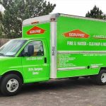 SERVPRO Truck headed out for a day in Lafayette