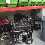 Portable Generator Being Readied for Use at Nashville Storm Damage Site