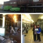 Beauty Salon in Nashville Water Damaged