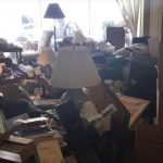 Hoarding complicates water damage
