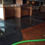 Dallas Flood Damage in Restaurant