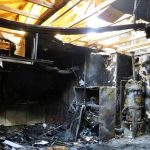 Fire Damage - Fallston Garage Totally Destroyed