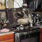 Westwood Ruined Kitchen from a Fire