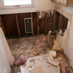 Water Damage Spokane Bathroom