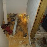 Water Damage in Arlington Home