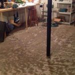 Basement Swamped by Dallas Storm Damage