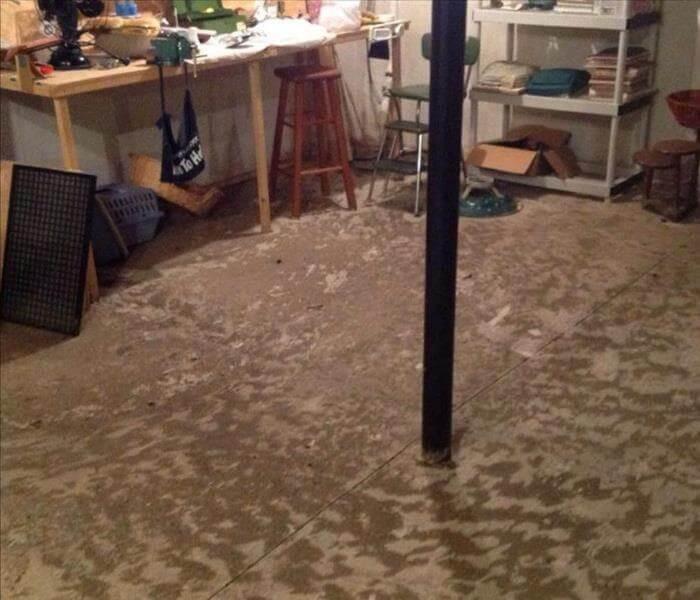 Flood Basement in Little Rock Arkansas