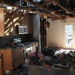 Dallas Fire Damage Began in Kitchen
