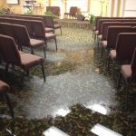 Englewood Cliffs Meeting Room Water Damage
