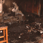 Fire Damage - Chicago Empty Classroom