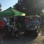 Tent at CAI Golf Tournament