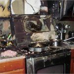 Jacksonville Torched Kitchen Damage