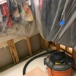 Water Affecting an Arlington Walk-In Closet