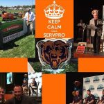 SERVPRO supports Chicago Bears & Olivet Nazarene University.