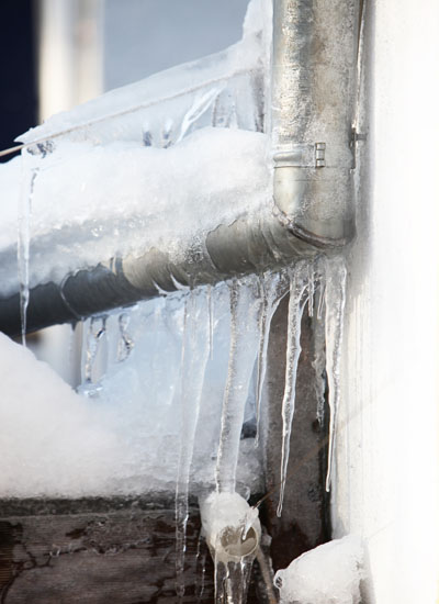 Something very serious that can happen in your home is a burst pipe. This can occur because your pipes are corroding over time or because they freeze in the winter.