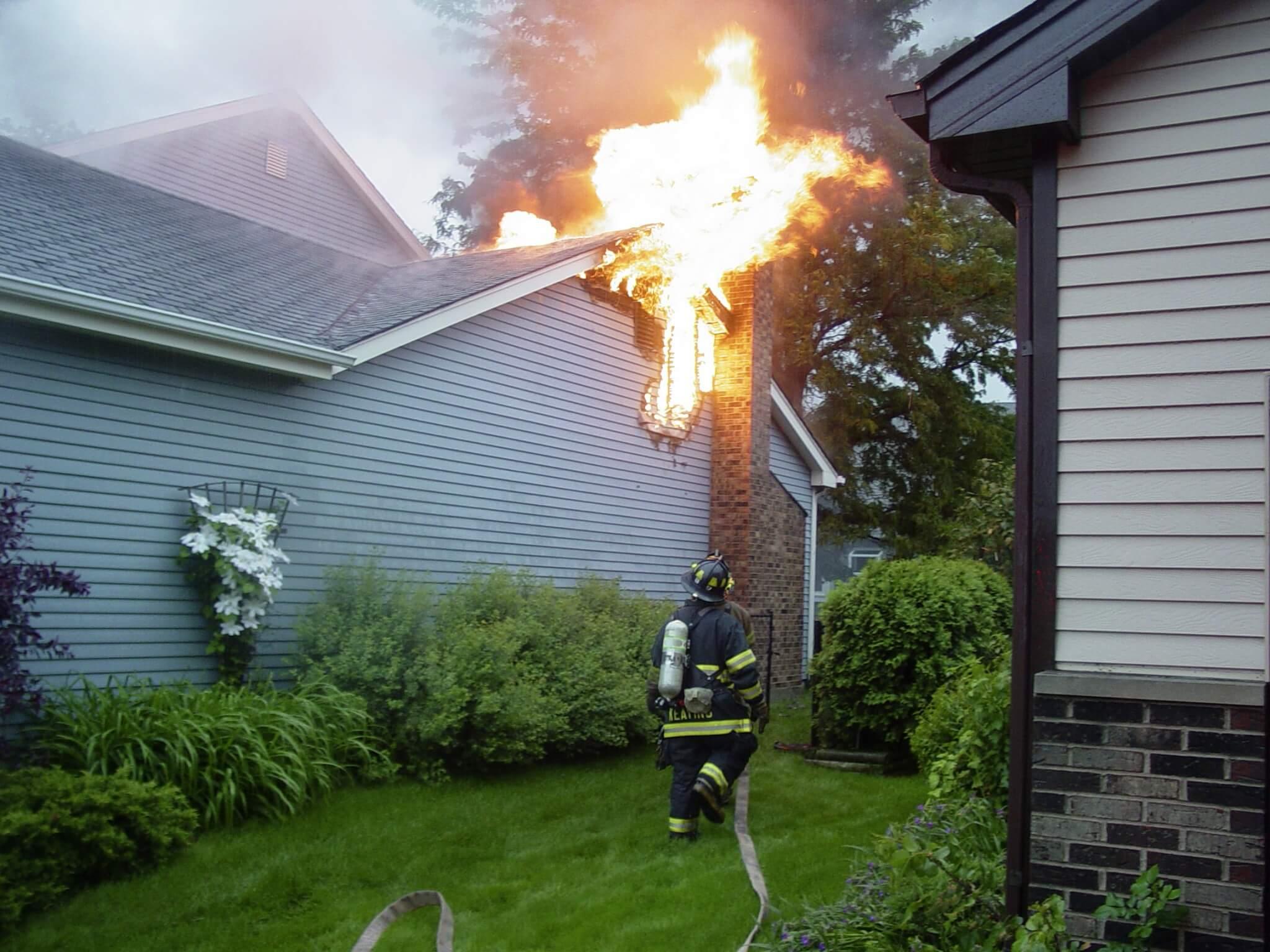 fire damage property